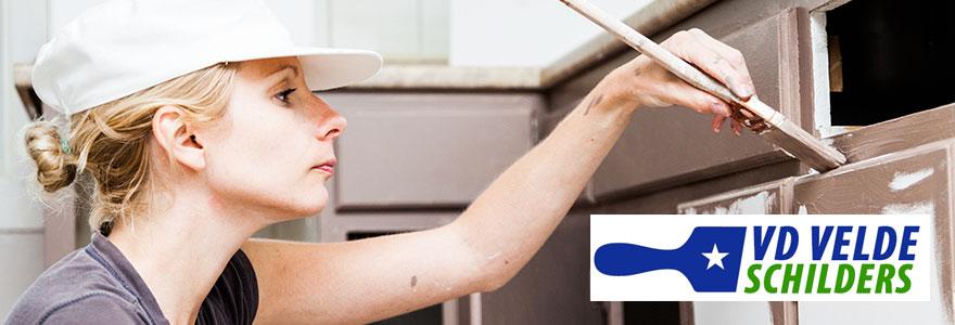 keuken schilderen doe-het-zelf